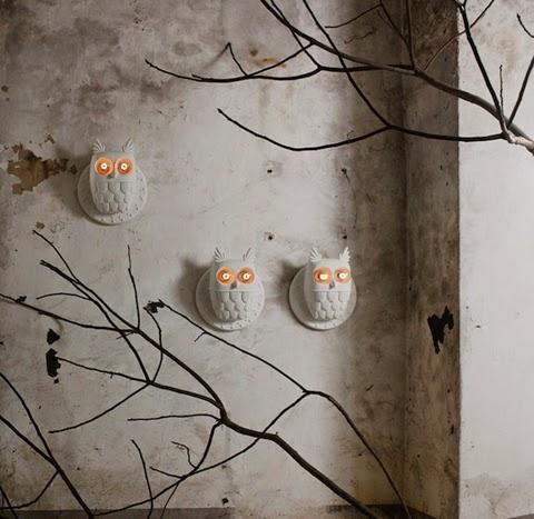 Matteo Ugolini Owl Lamp