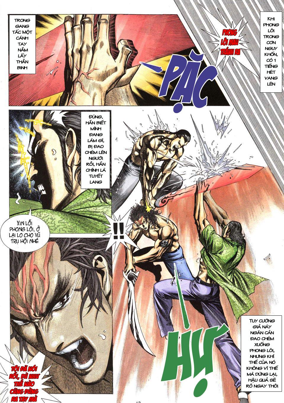 Phong Lôi chap 40 - Trang 13