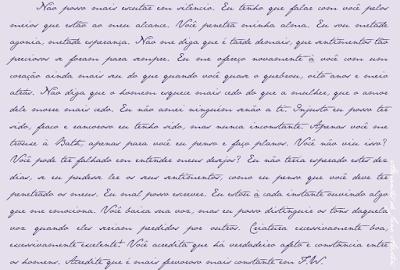 Fonte Letra da Jane Austen
