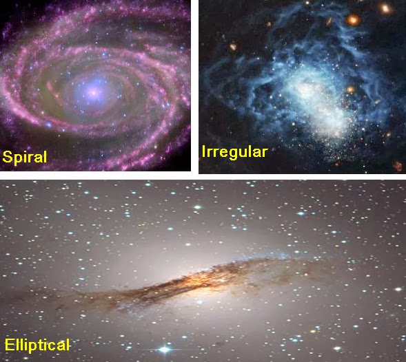 types of two spiral galaxies - photo #7
