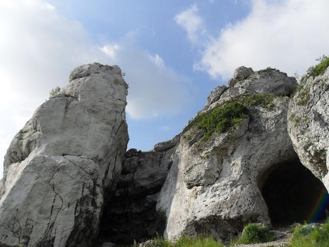 szlaki rowerowe jura krakowsko częstochowska - jaskinie