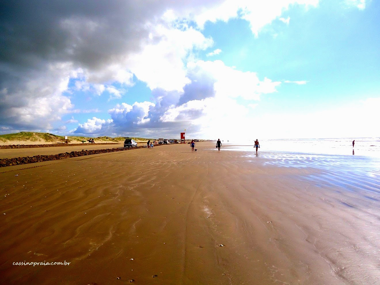 Um dia de sol na Praia