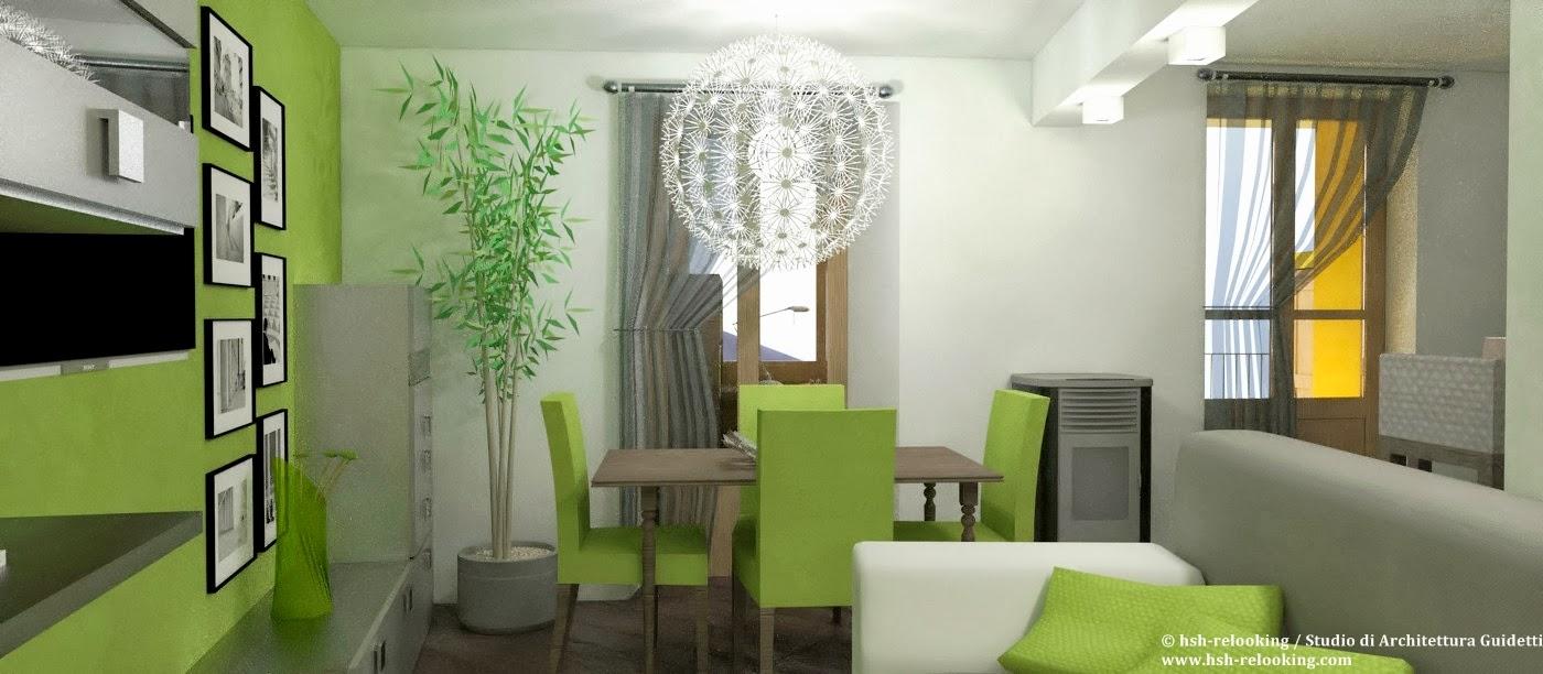 Parete Soggiorno Verde Acido ~ Il Miglior Design di Ispirazione e ...