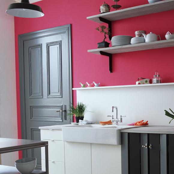 C mo pintar las paredes con colores vivos decorando mejor - Pintar paredes de colores ...