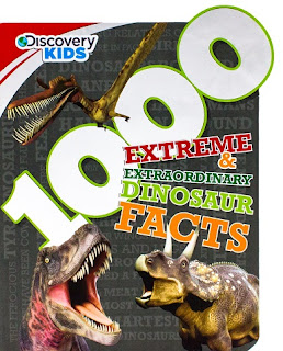1000 Extreme & Extraordinary Dinosaur Facts cover