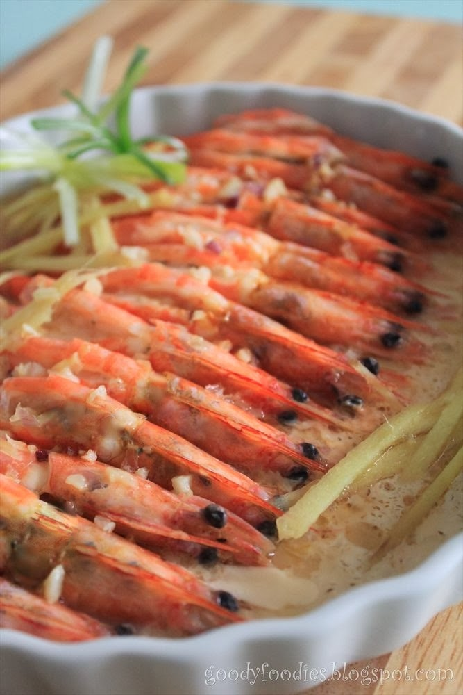 Goodyfoodies baby sumos top 8 chinese new year reunion dinner dishes we value happiness in our family hence prawn is another must have during the reunion dinner this is a nice simple way of cooking prawns and preserves the forumfinder Image collections