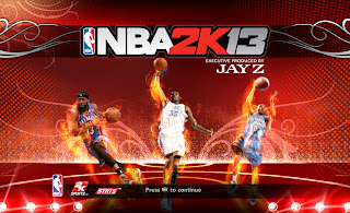 NBA 2K13 Oklahoma City Thunder Startup Screen Mods
