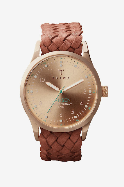 tan strap watch topshop