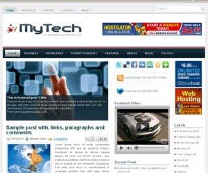 MyTech Blogger Template