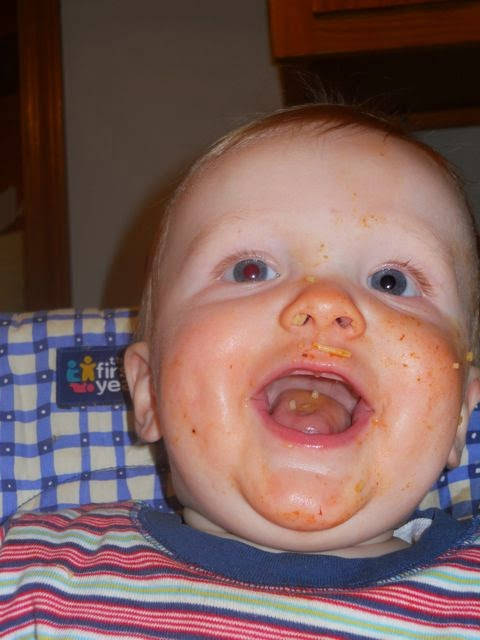 Messy Baby Photo via www.ericvr.com