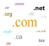 domínio .com domain choose many muitos guia