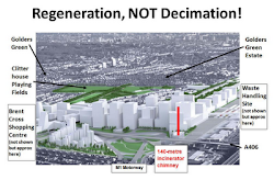 Brent Council's Opposition to Barnet's Brent Cross