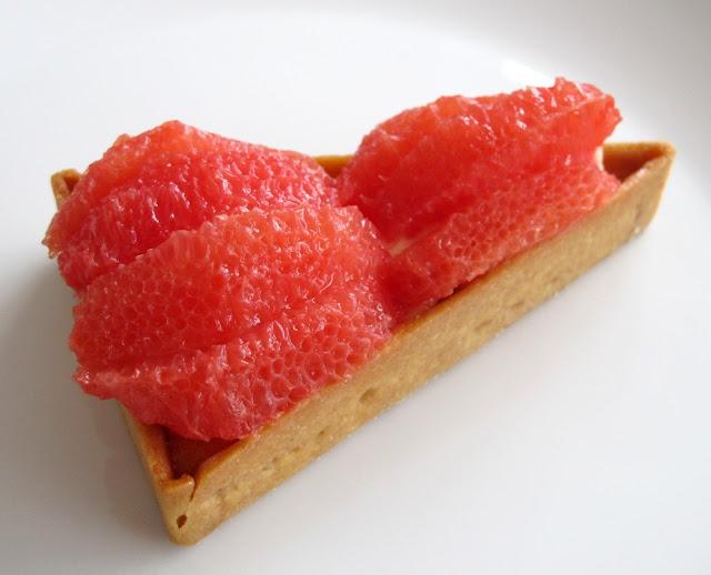 Pâtisserie Hugo & Victor - tarte au pamplemousse