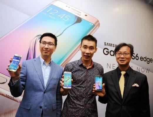 Samsung tambah stok Galaxy S6 Edge Gold Platinum