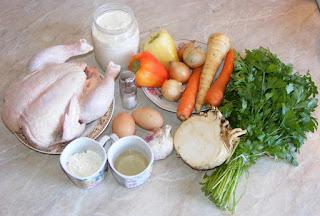 ingrediente pentru ciorba radaudena originala, cum facem ciorba radauteana, retete culinare, retete cu pui, preparate din pui, retete de mancare, ingrediente ciorbe,