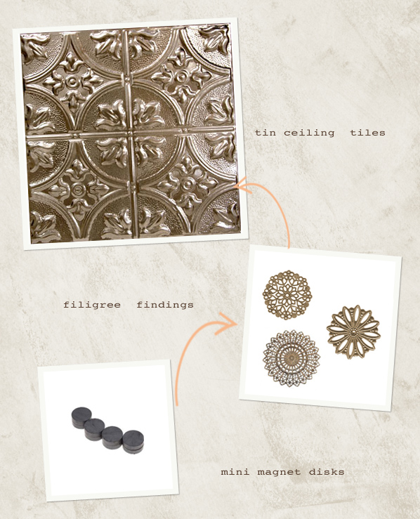 DIY Wedding Project DIY Vintage Tin Ceiling Board
