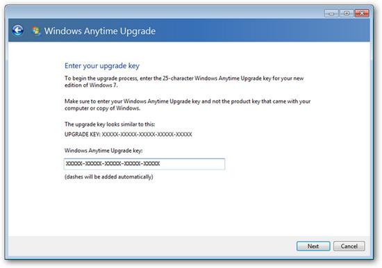 Anytime Upgrade Ultimate keygen