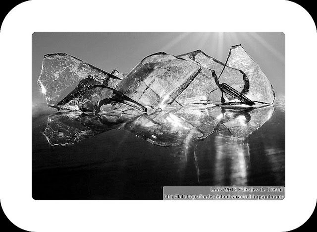 Abstract Photo 3413 Crystal Landscape 200  Summer Dream - Sueño de Verano