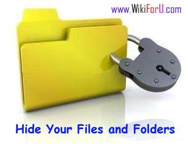 Hide File Folder
