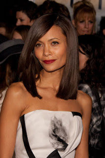 Thandie Newton Medium Hairstyle