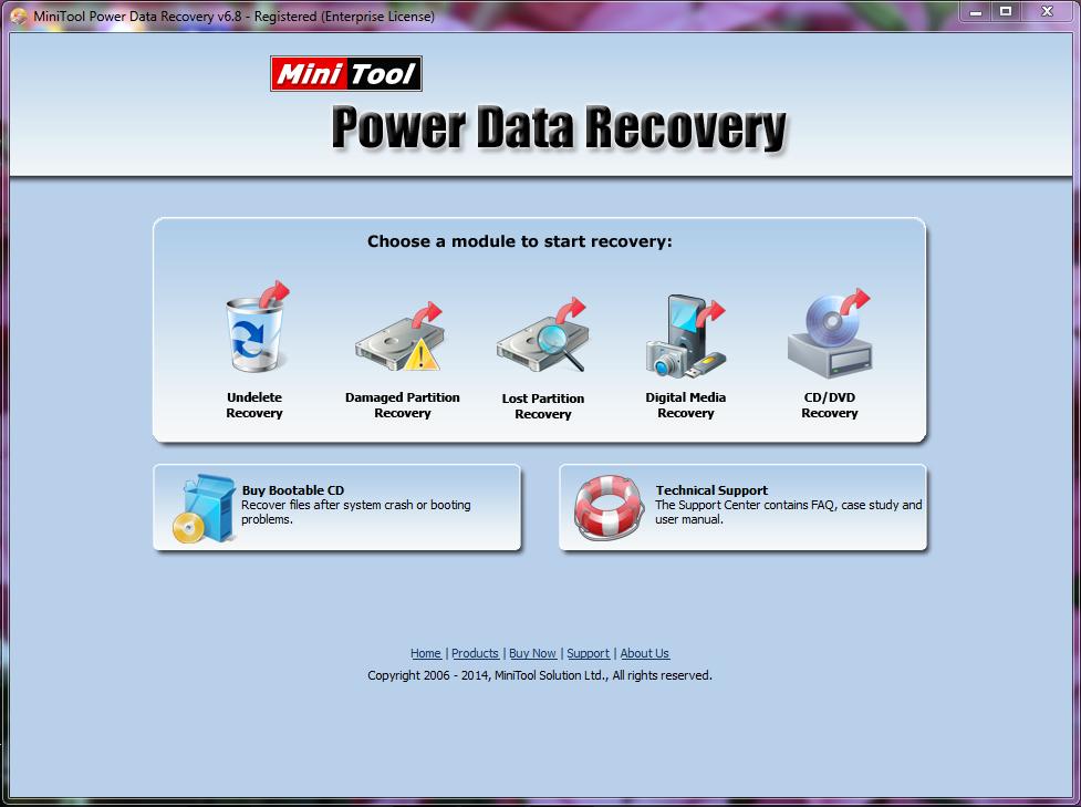 minitool power data recovery 7.0 full keygen