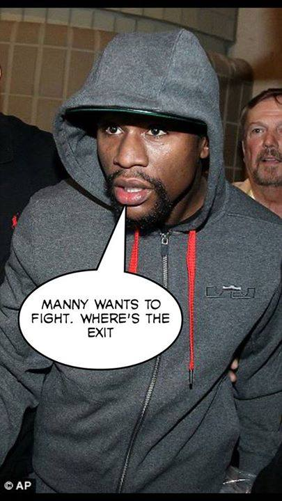 Floyd looking to exit to avoid manny