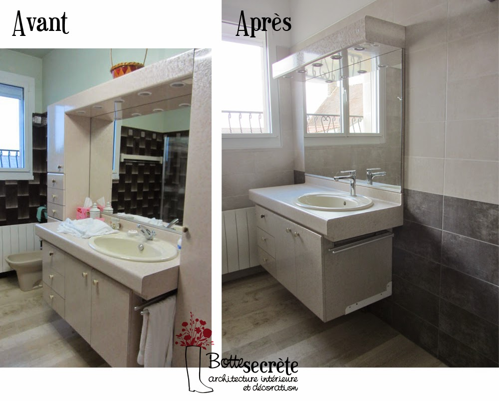la botte secru00e8te home staging - Repeindre Salle De Bain Carrelage
