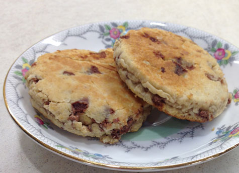 CookBook Bites: Chocolate Chip & Walnut Welsh Cakes