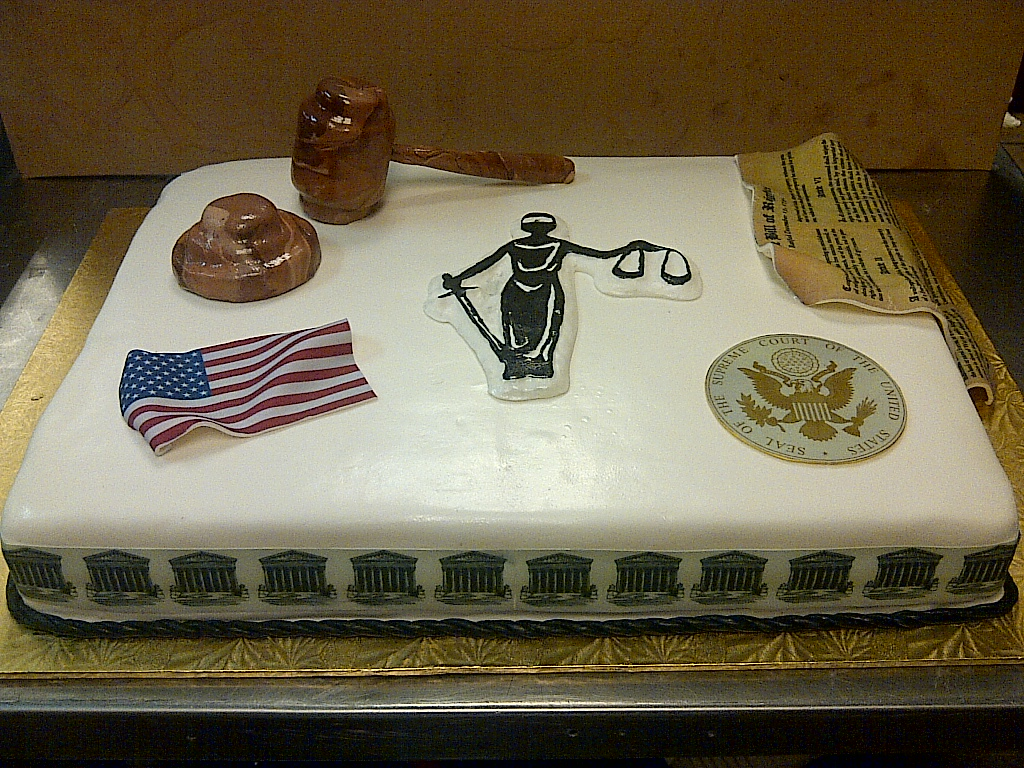 Cakes By Allie Supreme Court Judge Cake