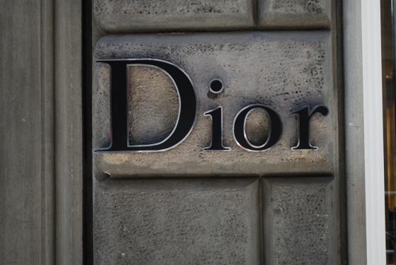 Schaufenster von Dior