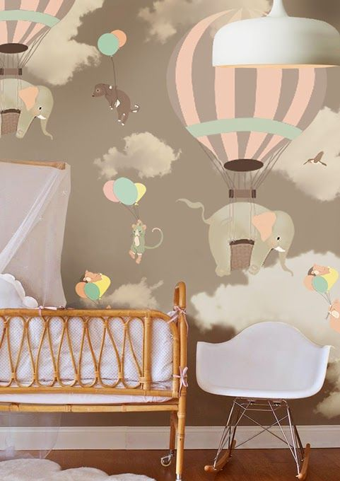 whimsical baby nursery cute decor wall art prints kids bedroom ideas sail and swan