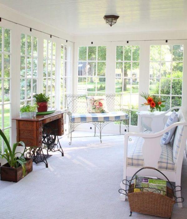 Terrazas Acristaladas Peque 241 As Colores En Casa