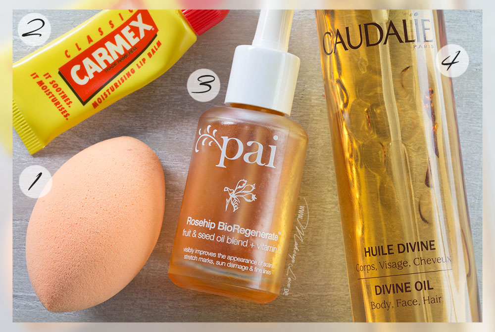 Beauty Favoriten 2014 Lieblinge Pai Caudalie real Techniques carmex
