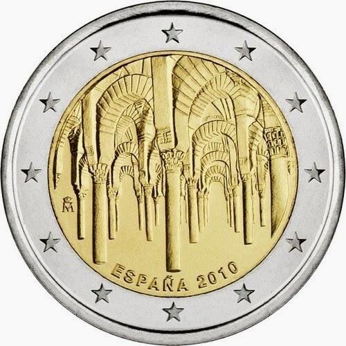 2 euro Spain 2010, Historic Centre of Cordoba