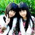 Cặp đôi bé gái song sinh giống nhau như đúc, xinh như hai thiên thần