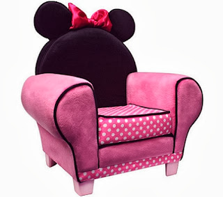 Dormitorio Temático Minnie Mouse by artesydisenos.blogspot.com