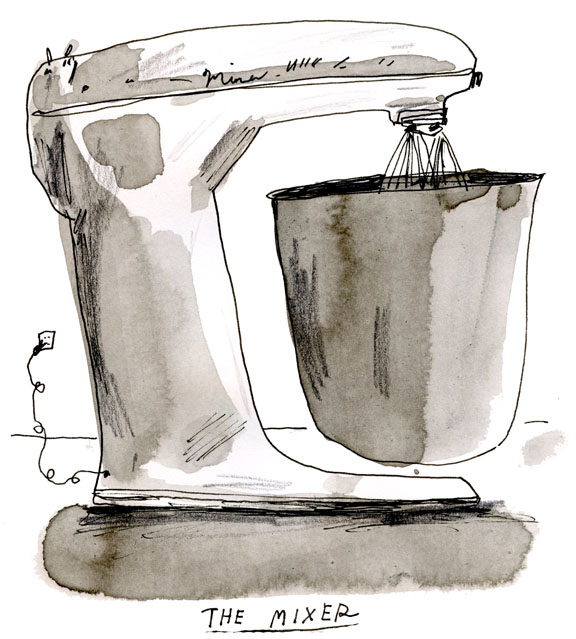 Elizabeth Graeber's Giant Mixer Illustration