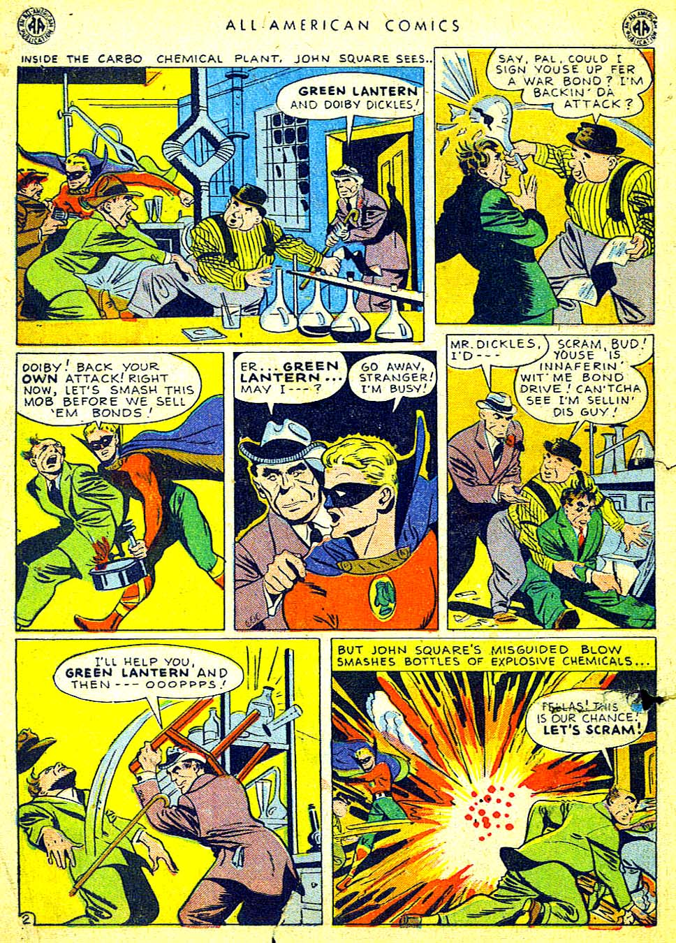 Read online All-American Comics (1939) comic -  Issue #65 - 4