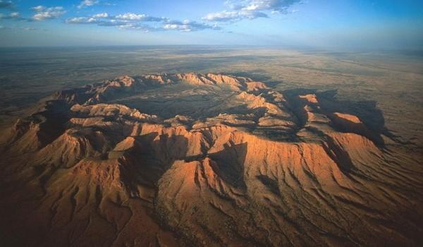 Cráter Gosses Bluff, Australia