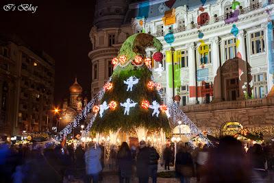 Piaţa de Crăciun din Bucureşti