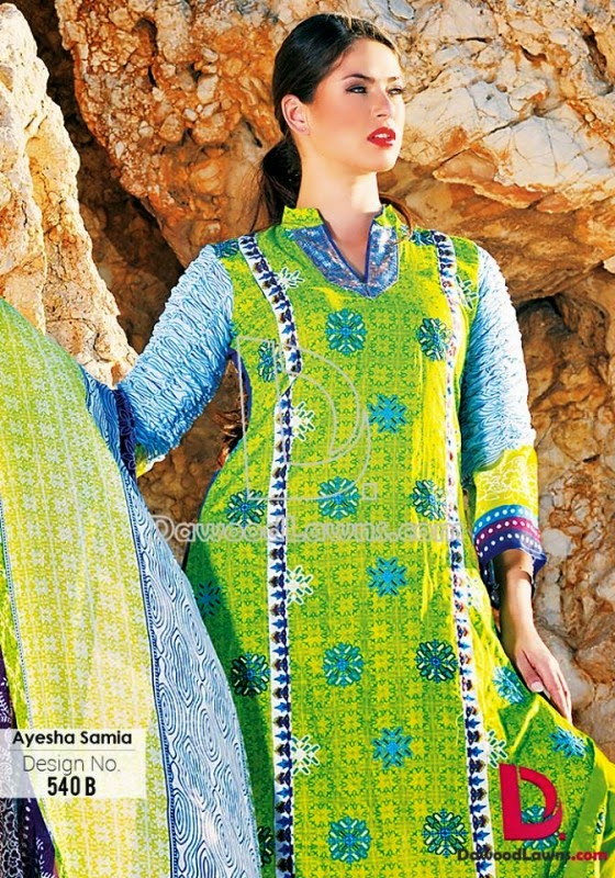 Dawood Lawn Collection for spring 2015