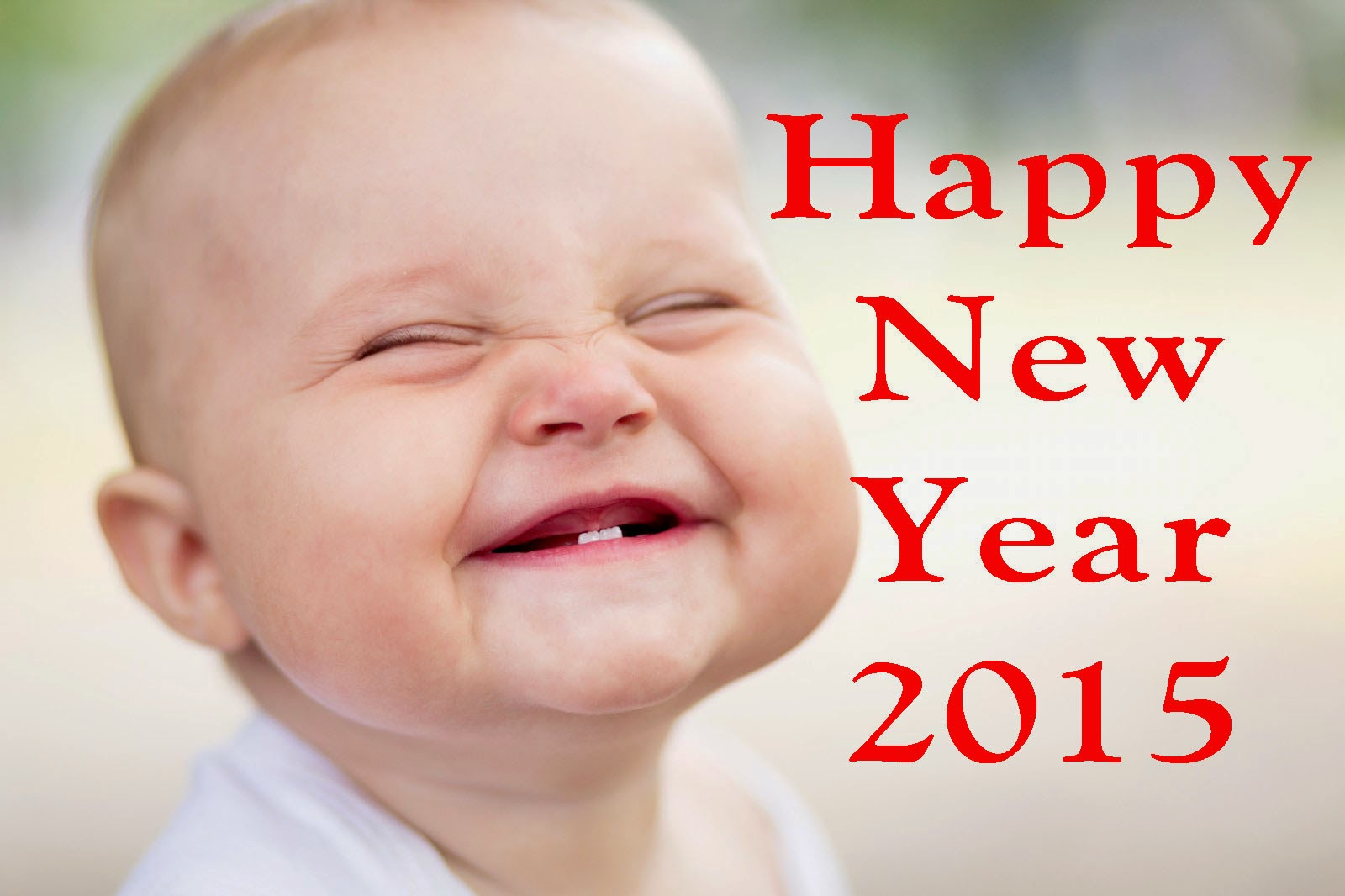 smiling cute babies hd wallpaper of new year 2015