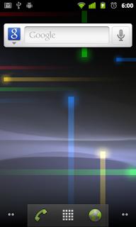 Tampilan Android 2.3-2.3.7