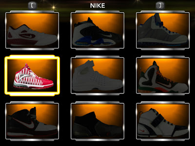 NBA 2K13 Anta KG 2 Christmas Edition Shoes Patch