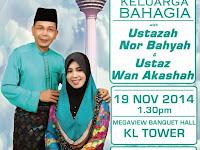 A Talk with Ustazah Nor Bahyah & Ustaz Wan Akashah at Menara Kuala Lumpur