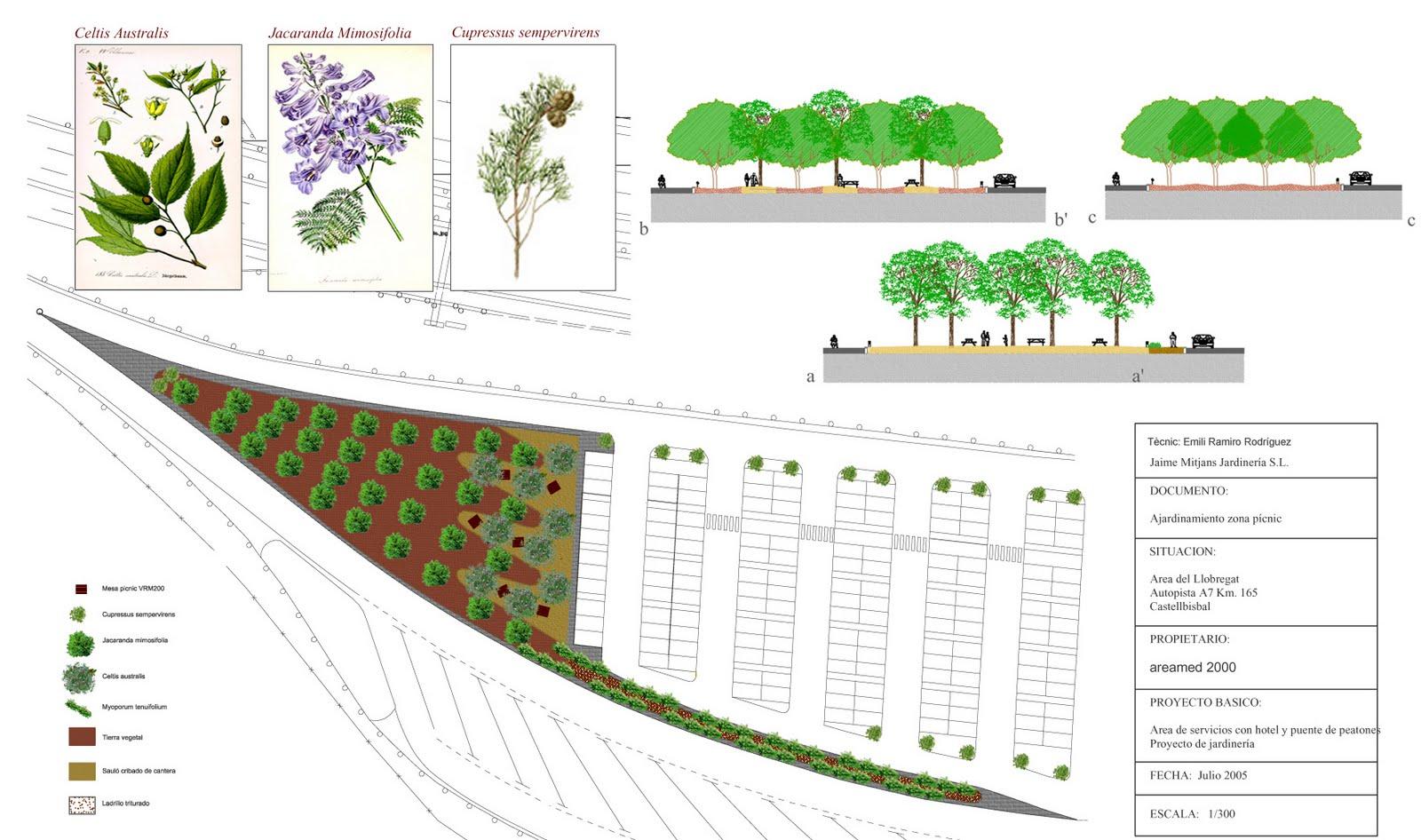 Paisajismo proyectos de jardiner a for Proyecto de jardineria