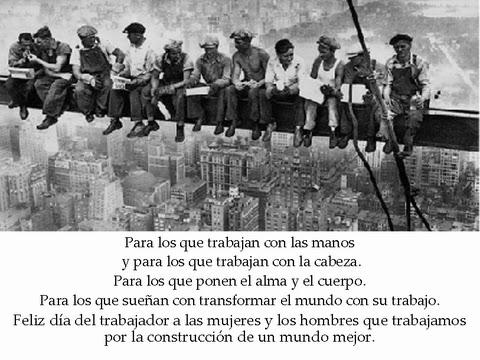 Mirando el Horizonte: Hoy es Primero de Mayo... Día Internacional de ...