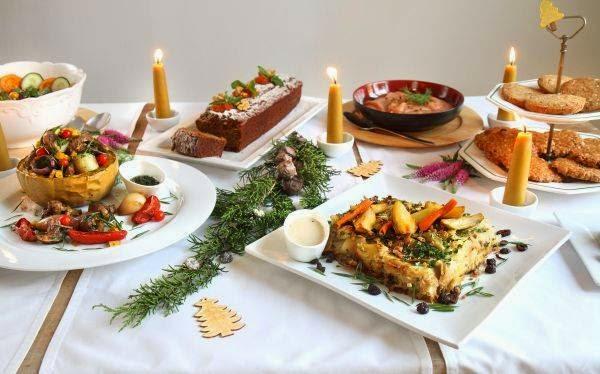 diversas opciones para una deliciosa y saludable cena navidea