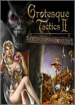 Jogo Grotesque Tactics 2: Dungeons and Donuts PC