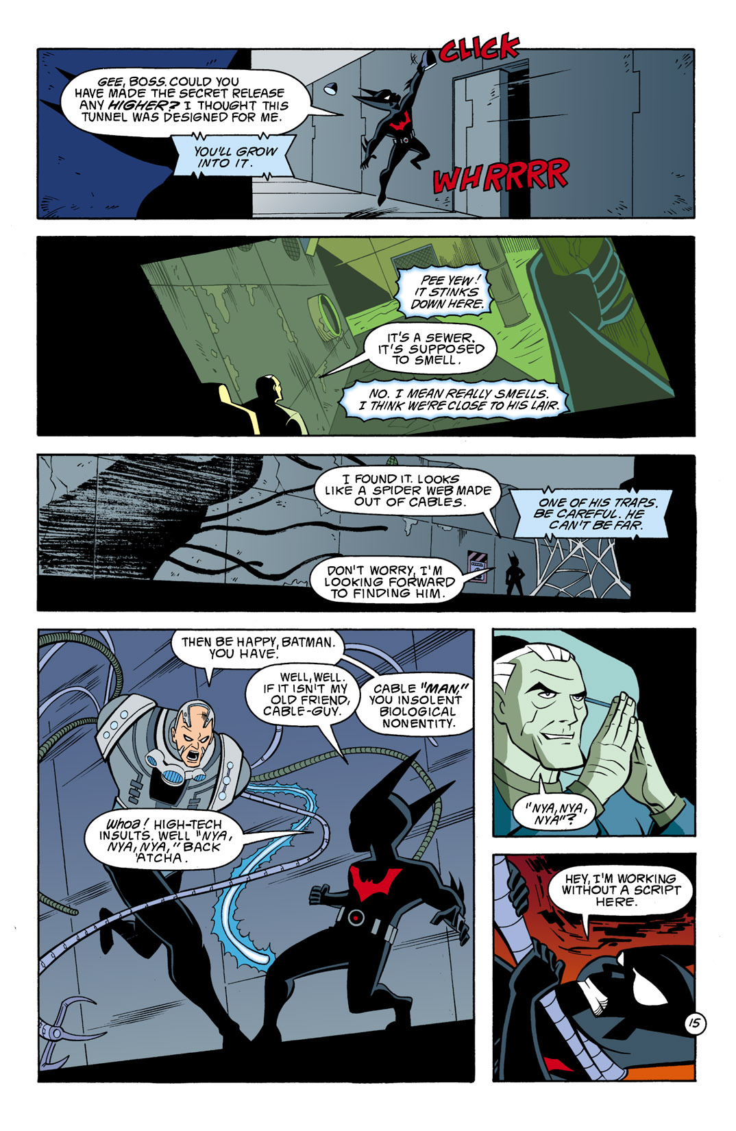 Batman Beyond [II] Issue #7 #7 - English 16